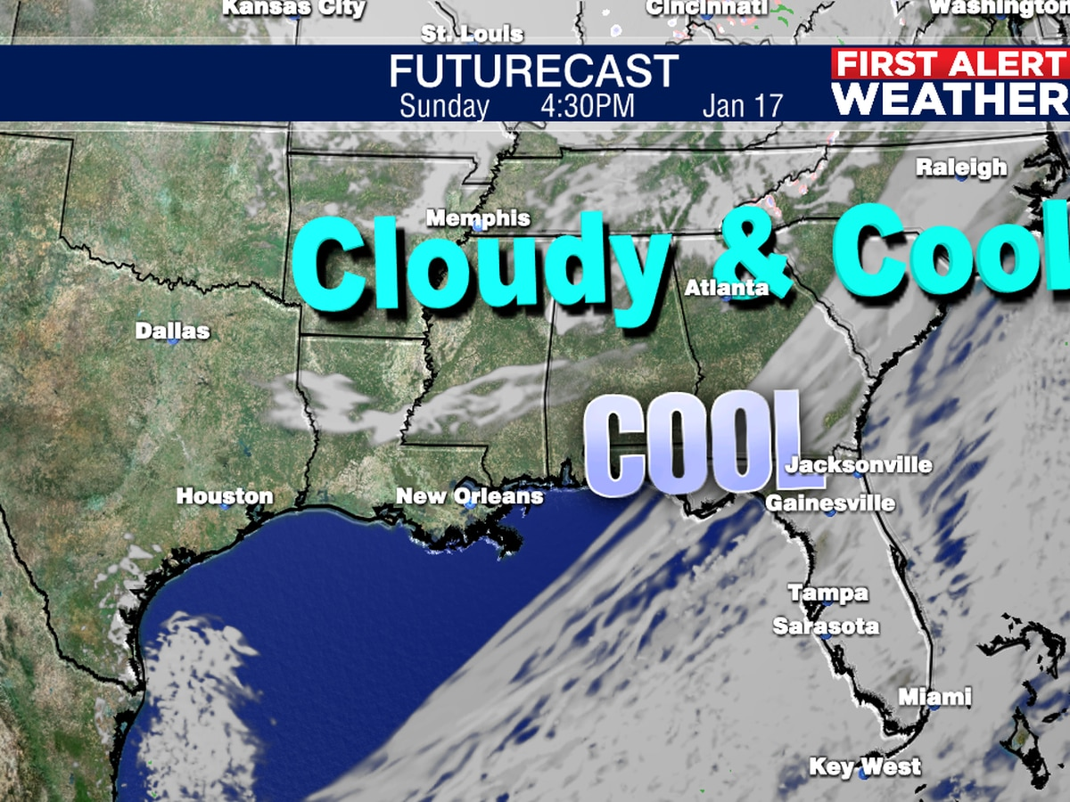 A cool Sunday, then a dry and warmer week!