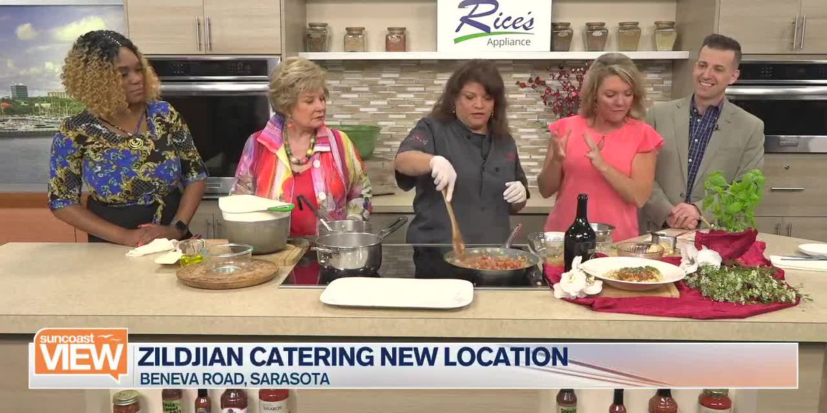 Zildjian Catering Makes Bison Bolognese in Our Kitchen | Suncoast View