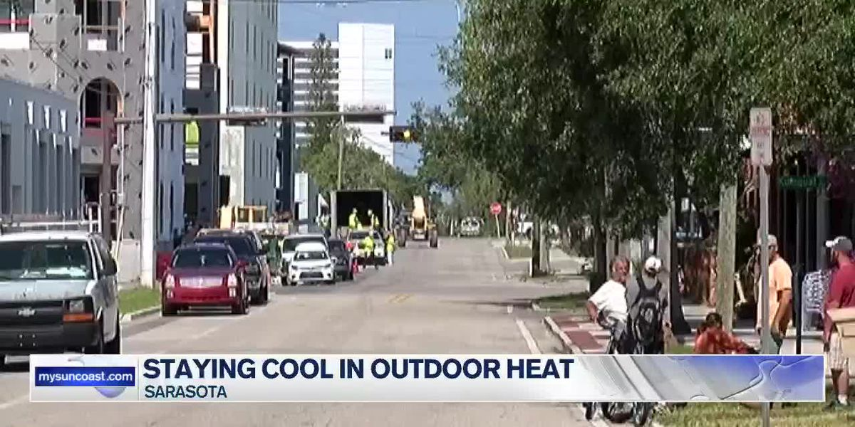 Staying cool in outdoor heat