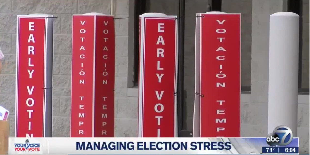 How to cope with 'Election Stress Disorder'
