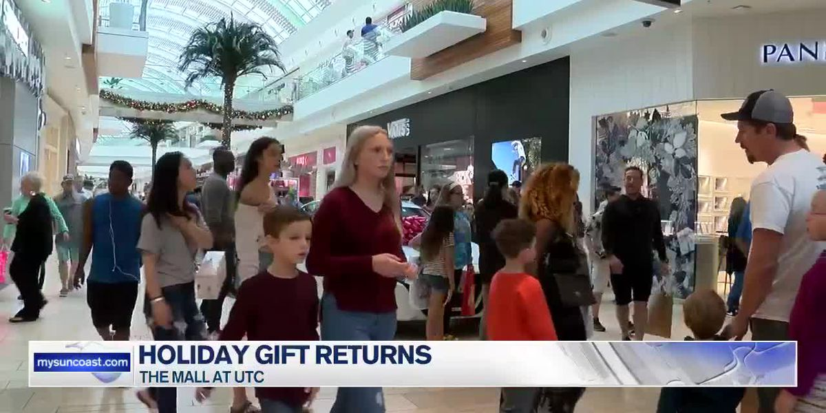 Many hitting the malls after Christmas for gift returns