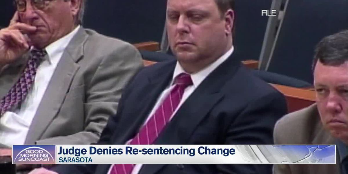 Sarasota judge denies changing re-sentencing date in case where 11-year-old girl was raped, murdered