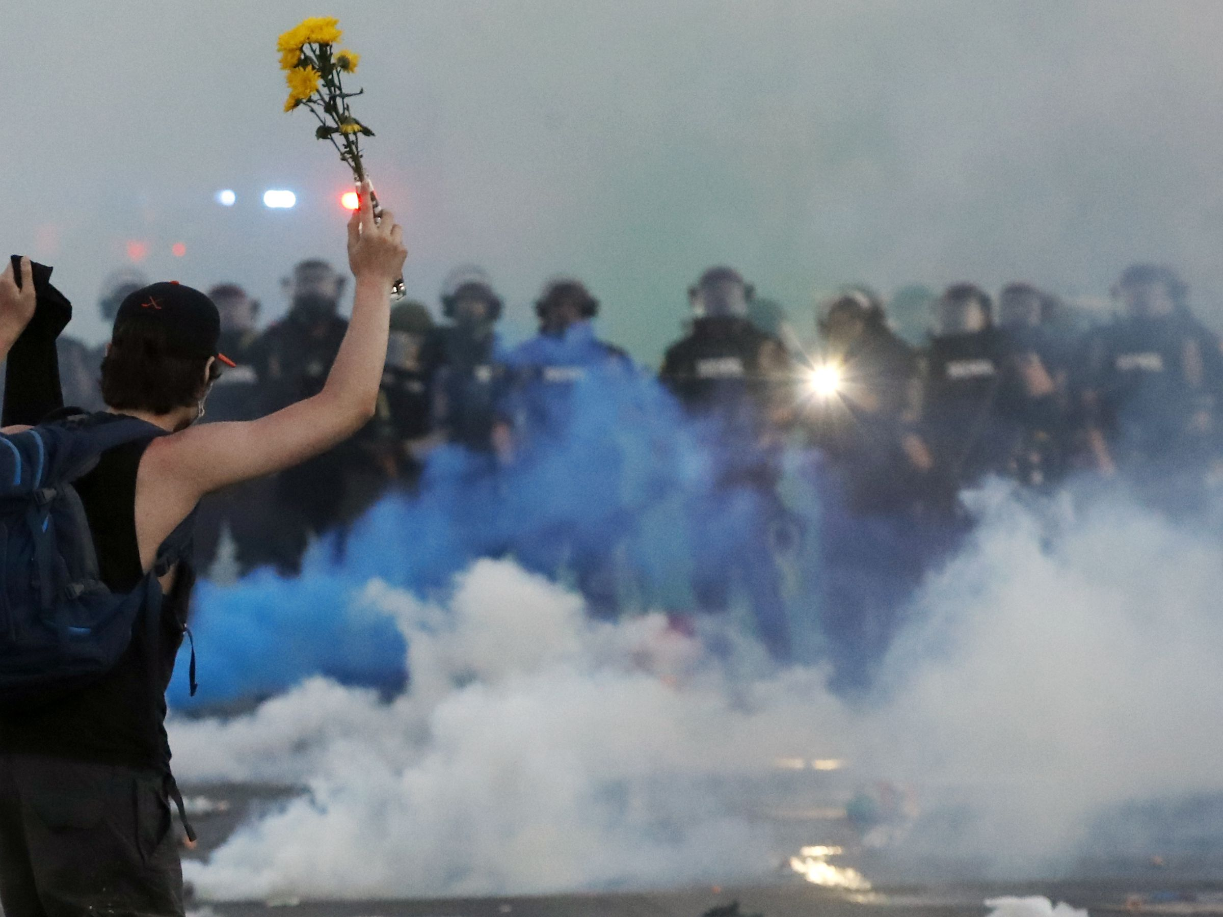 GRAPHIC: Protests flare again in US amid calls to end police violence