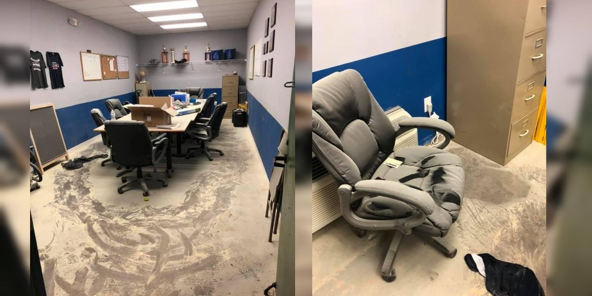 North Port softball team thrown a curve ball after their headquarters was vandalized