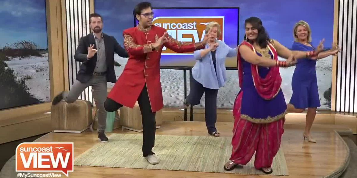 """We Learn a Bollywood Dance for """"A Journey Through India"""" at Ringling Museum 