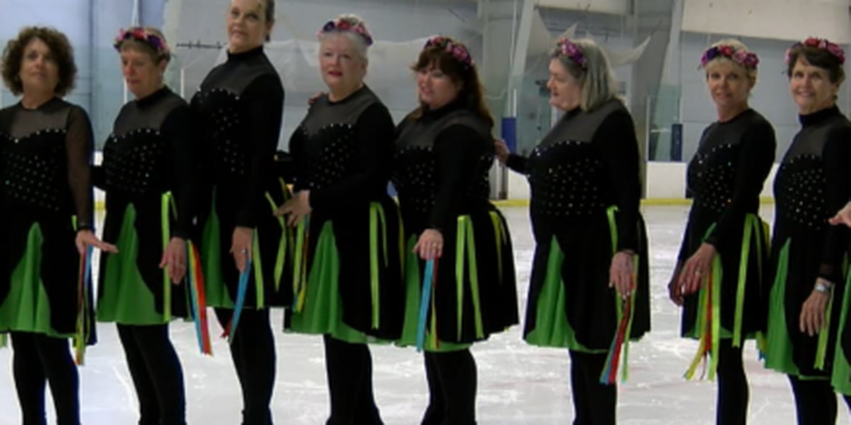 Unique ice skating group in Manatee County made up of women ages 45-80 is heading to national competition