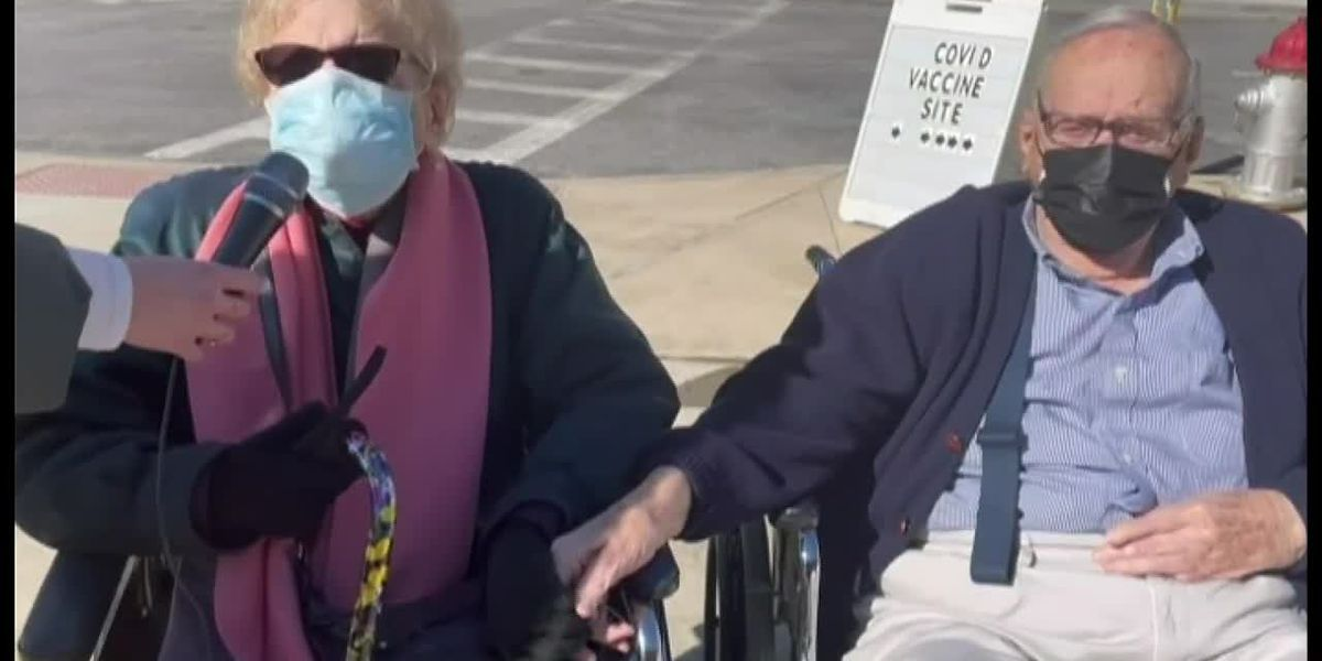 After COVID-19 vaccines, elderly couple from NY look forward to married life