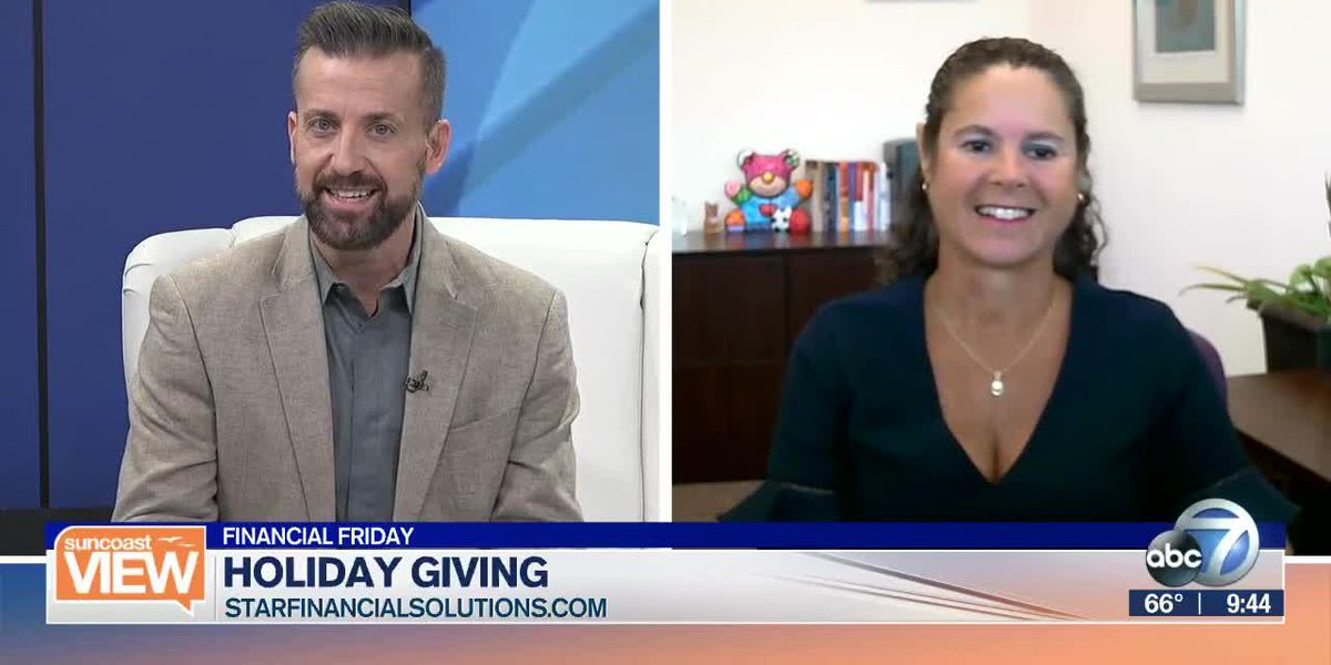 Our financial advisor talks holiday giving | Suncoast View
