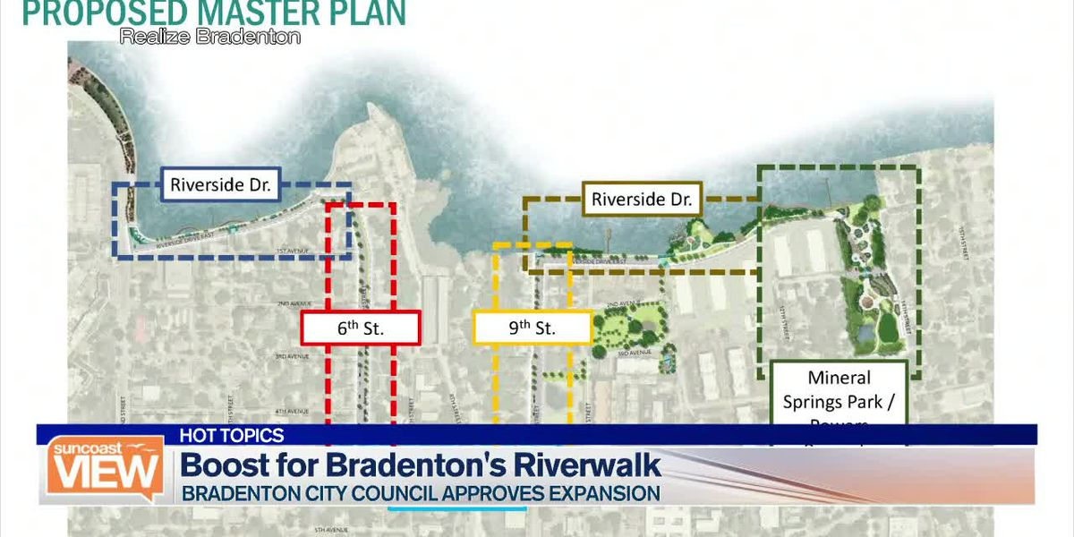 Will a New Plan Revive Bradenton's Riverwalk? We Discuss That and More | Suncoast View