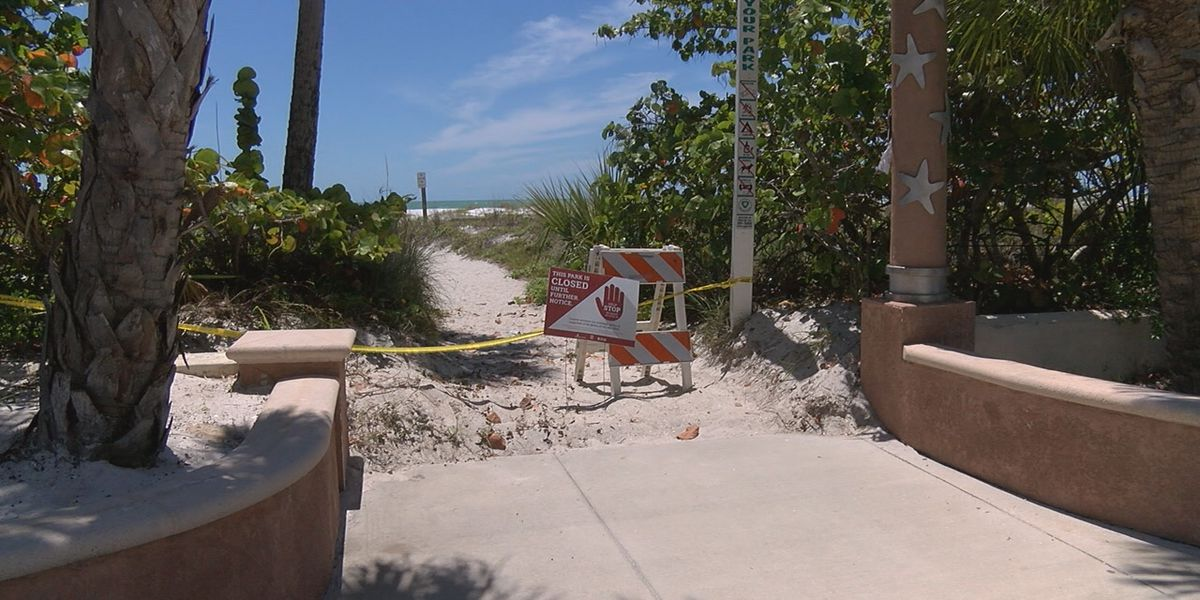 Restaurants and Shops are Open in the City of Sarasota, so why is Lido Beach Closed?