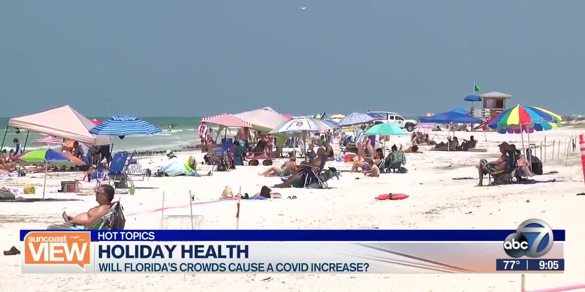 HOT TOPICS: Will Labor day crowds spike Florida's COVID cases? | Suncoast View