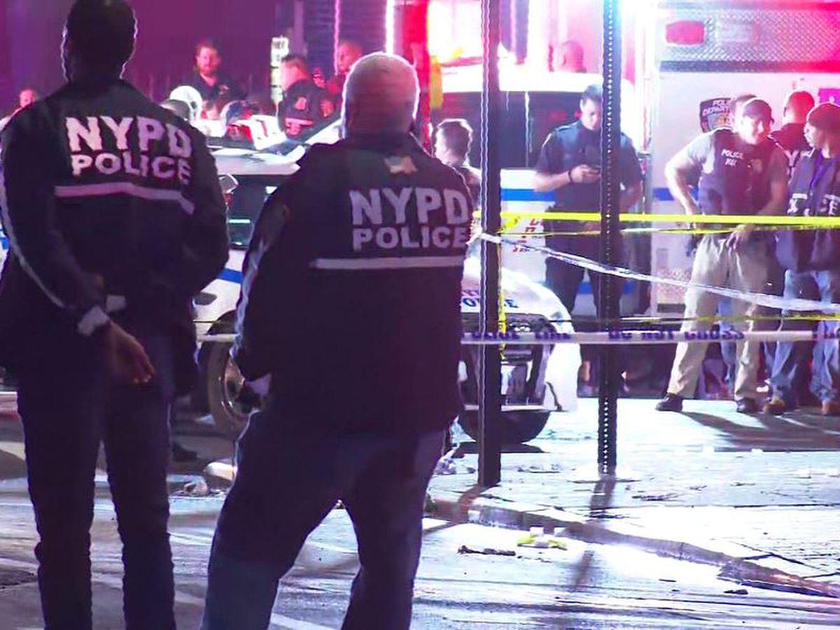 NYPD officer is stabbed in neck in ambush; suspect is shot