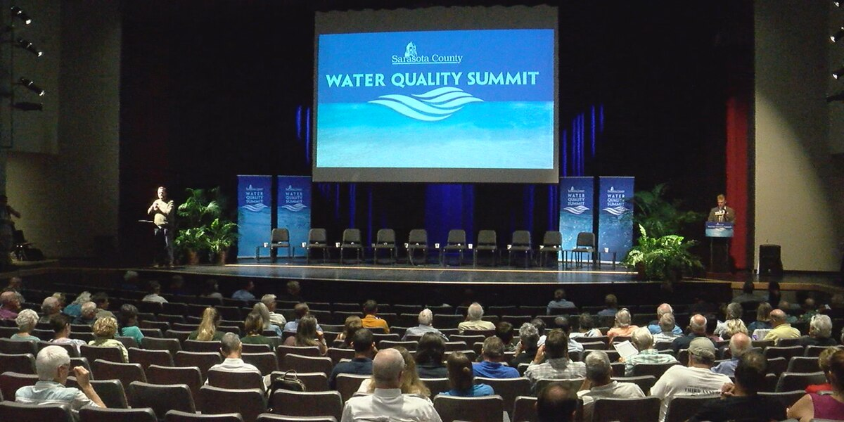 Sarasota County conducts a water quality summit connecting scientists and the public