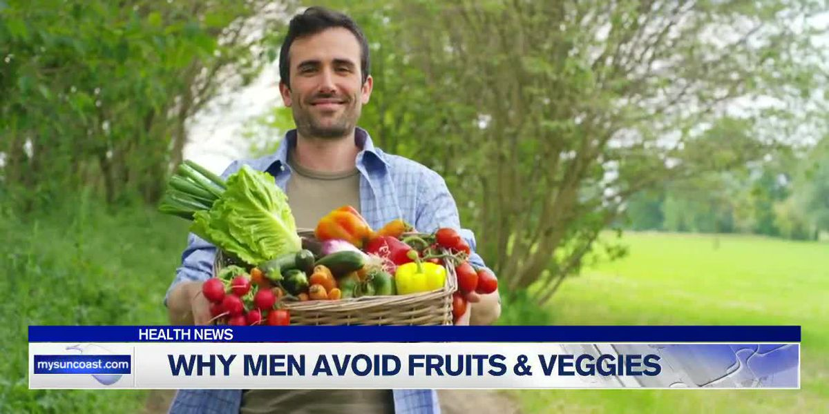 Why Men Avoid Fruit & Veggies