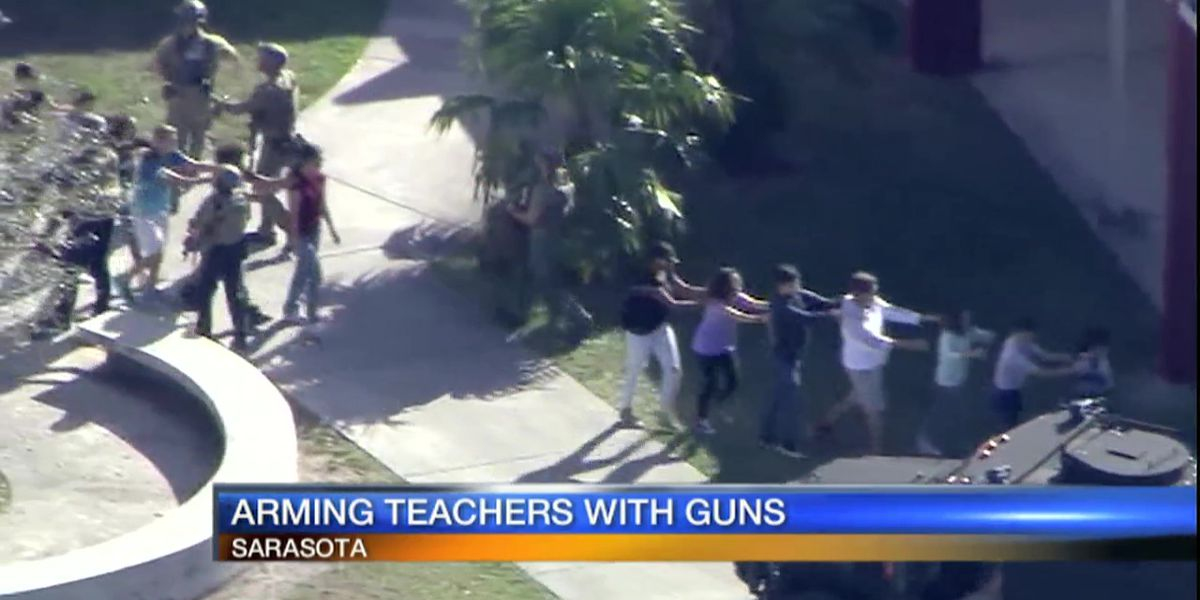 House panel approves school bill allowing arming of teachers