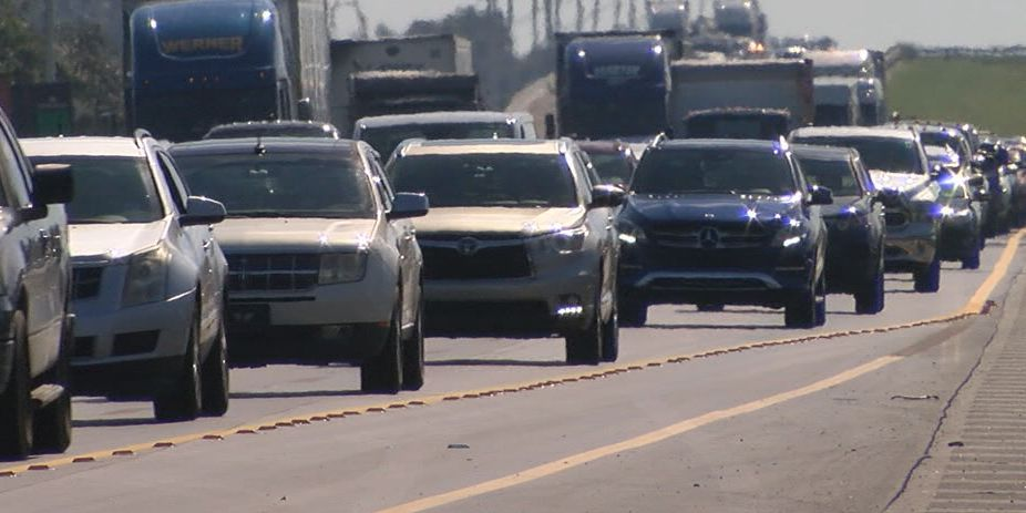 Record delays on the roadways expected for Thanksgiving Eve travel
