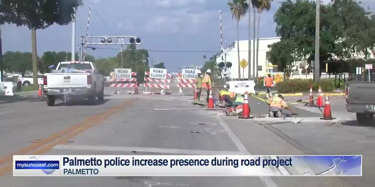 Palmetto Police increase presence during road project