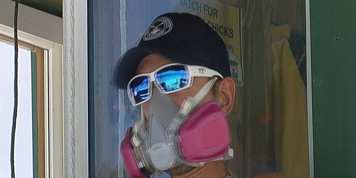 Respiratory Masks Available for Lifeguards in Sarasota and Manatee County While on Duty