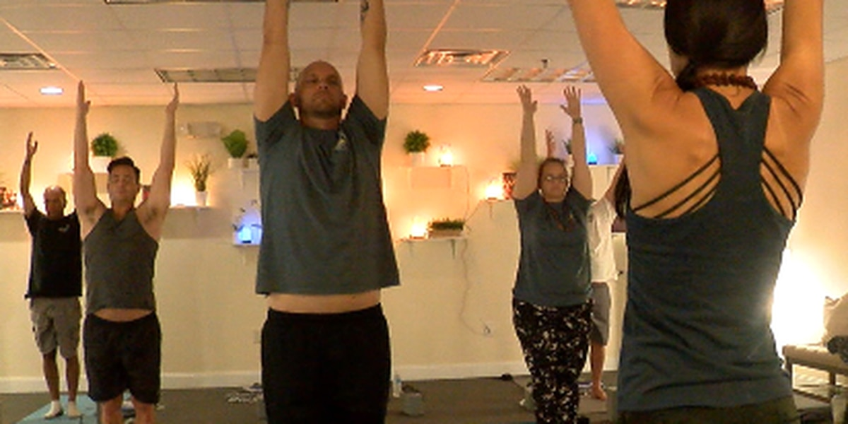 Free Yoga classes for active duty military and veterans