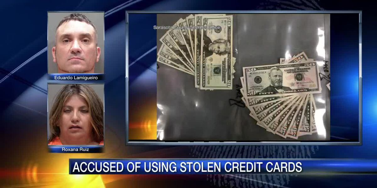 Miami duo accused of using stolen credit cards