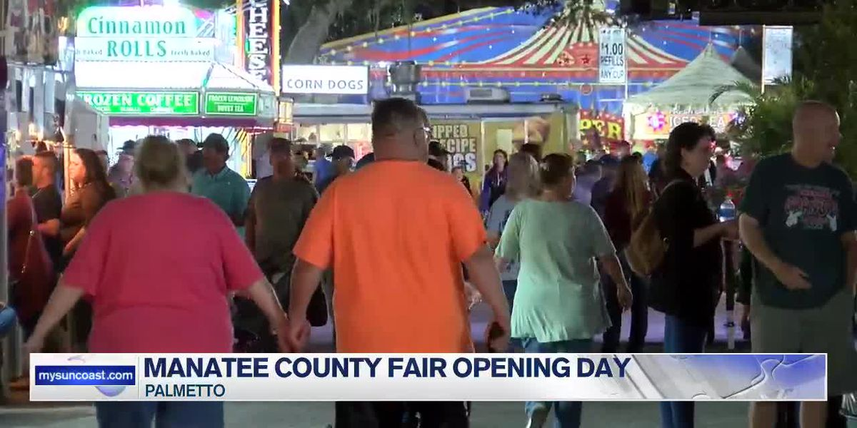 Manatee County Fair Opening Day - 11pm Report