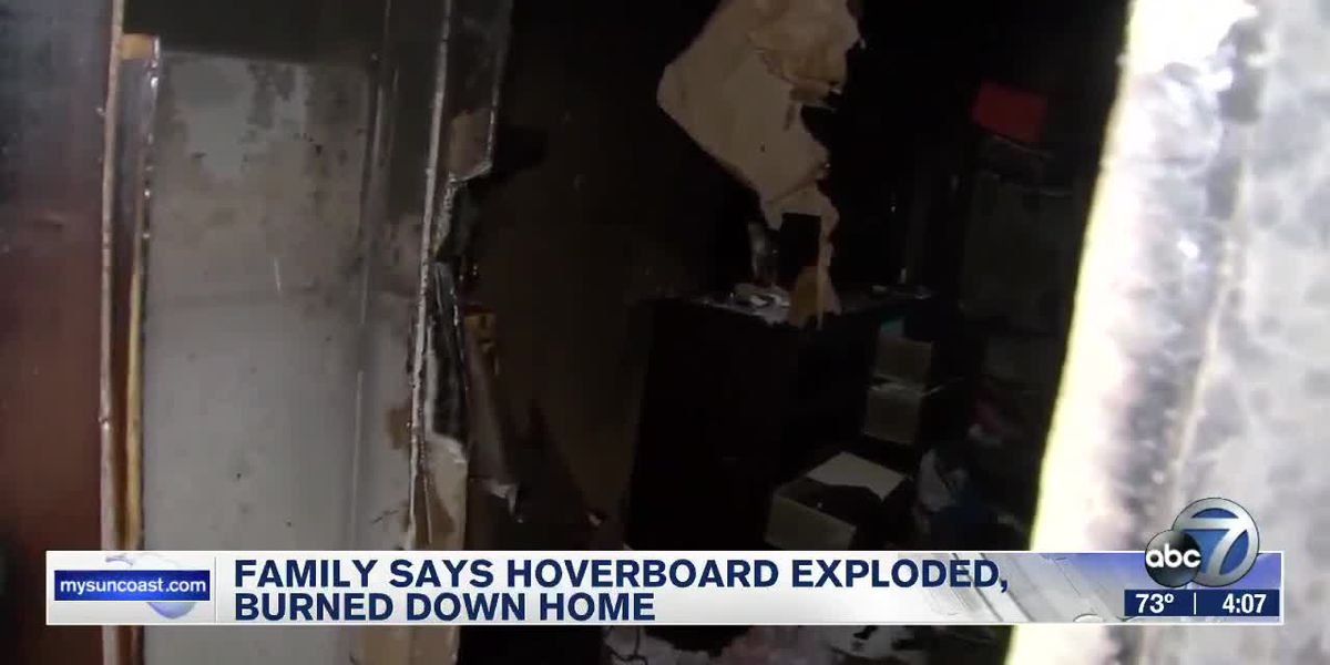 Family Says Hoverboard Exploded, Burned Down Home