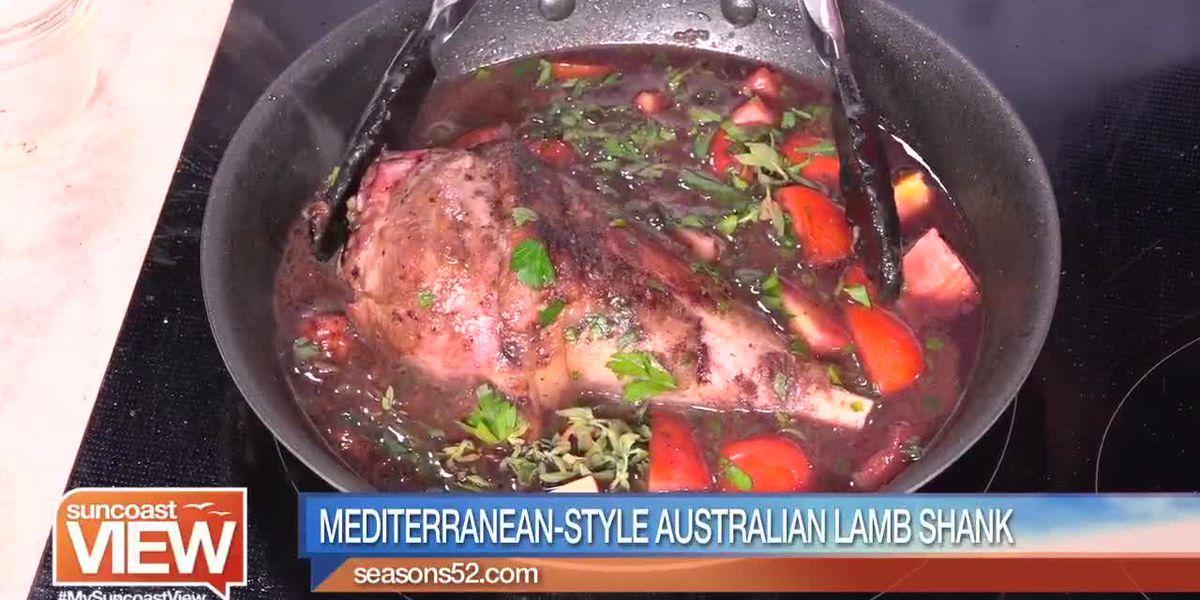 Mediterranean-Style Australian Lamb Shank from Seasons 52 | Suncoast View