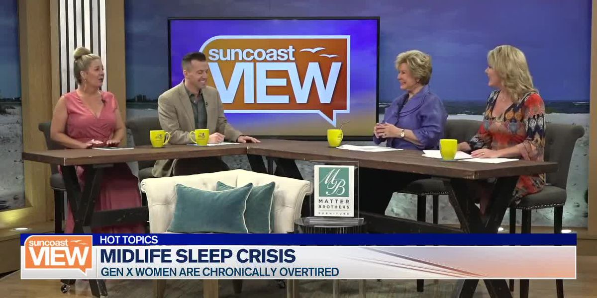 Midlife Sleep Crisis, Wine Prices Drop, and Solving Math Problems for Free Munchies | Suncoast View