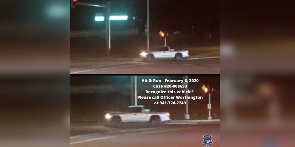 Police looking to identify driver involved in hit-and-run crash in Sarasota
