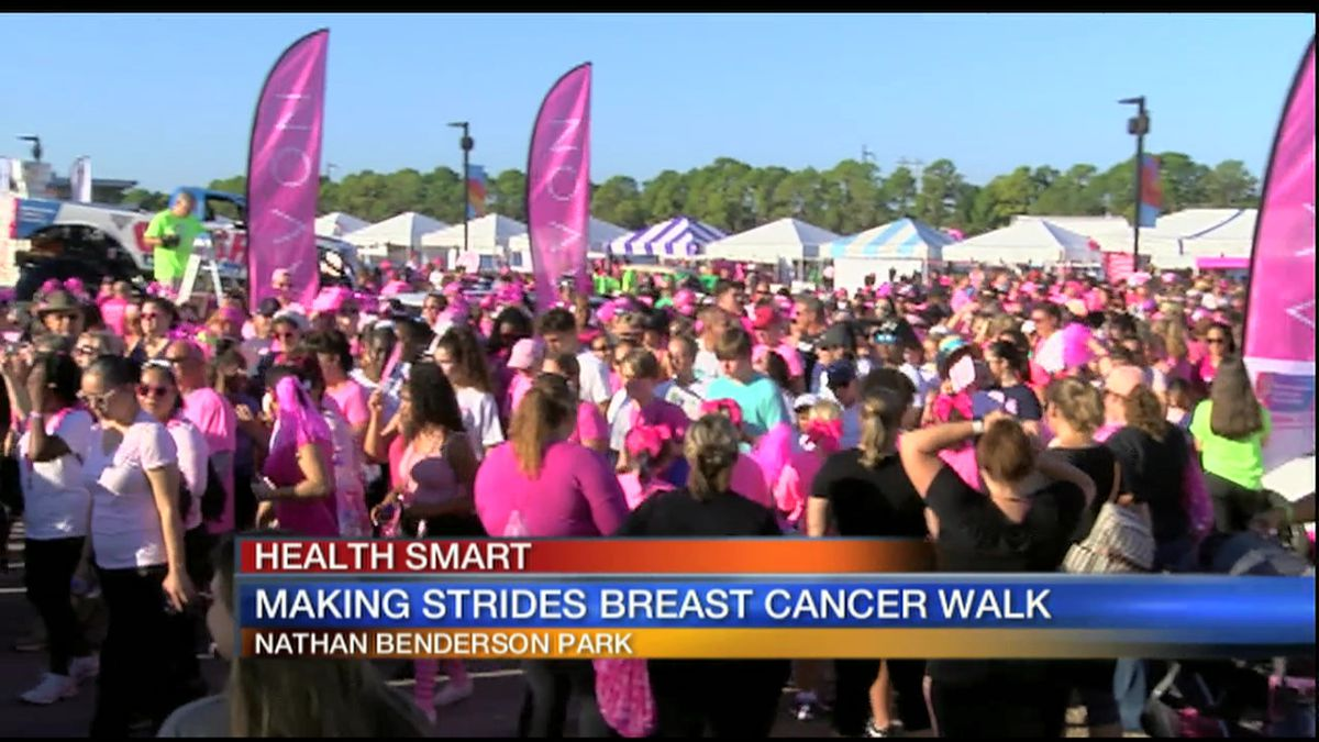 Making Strides Against Breast Cancer Walk at Nathan Benderson Park canceled due to weather
