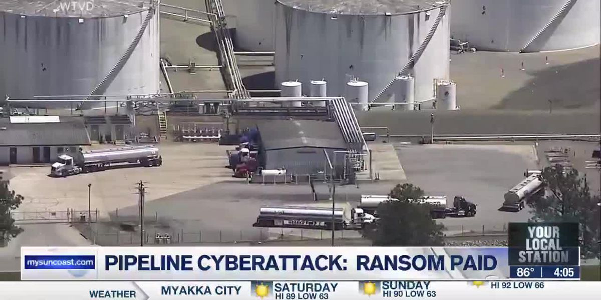 Pipeline cyberattack: ransom paid