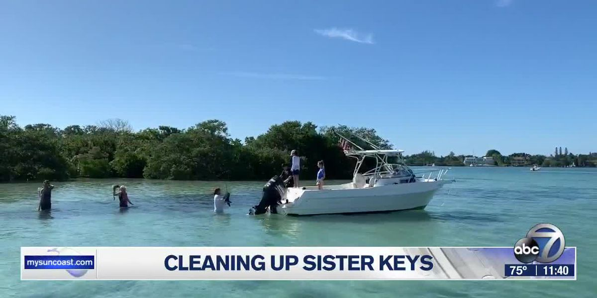 Several businesses on the Suncoast team up for invasive cleanup of Sister Keys on Saturday