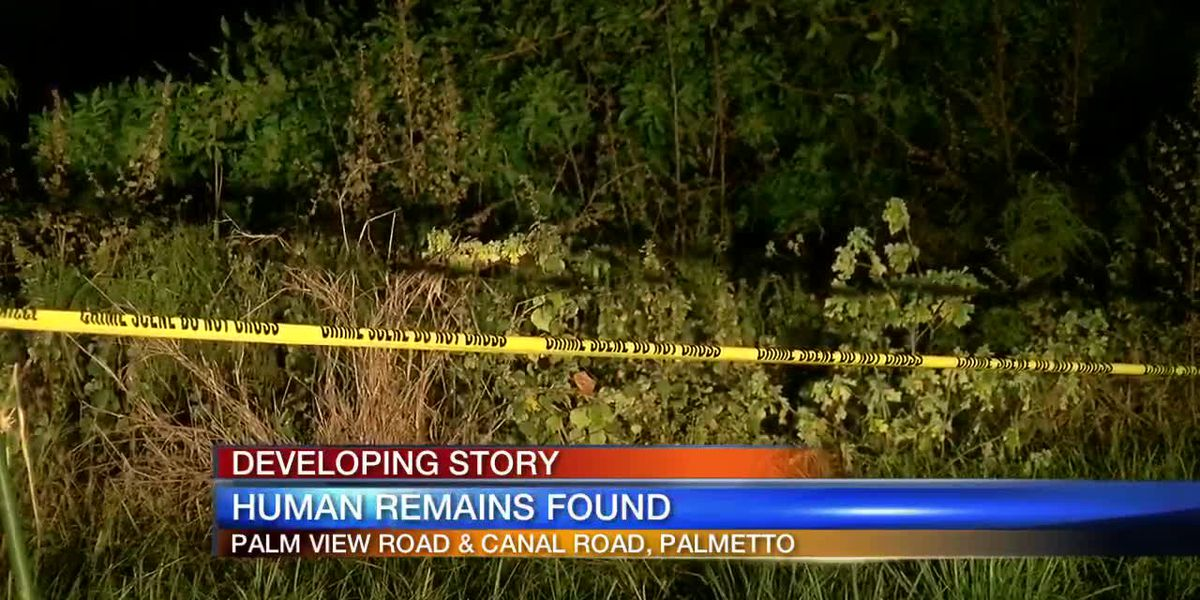 Human remains found in field in Manatee County