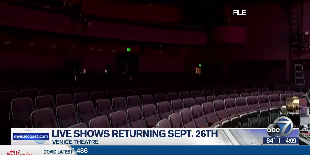 Venice Theatre announces re-opening date