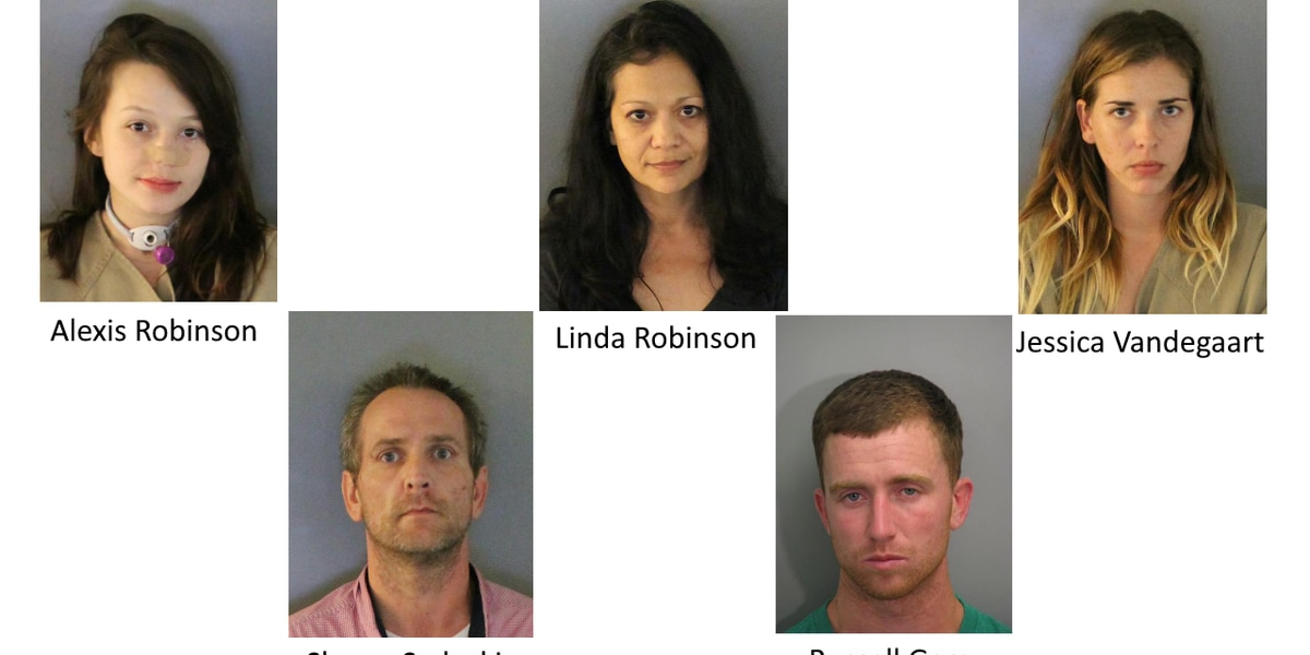 Diabetic attack turns into drug bust with five arrests