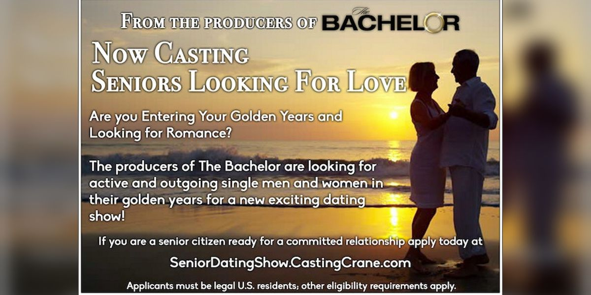 'The Bachelor' - but for seniors