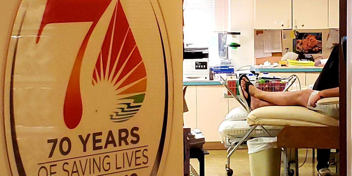 Blood bank offering scholarships or grants to attract high school seniors to donate blood
