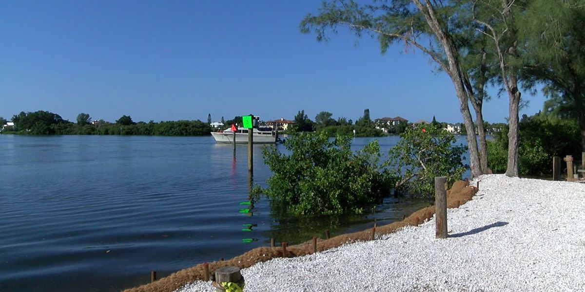 Sarasota County working to stop erosion at Blackburn Point Park