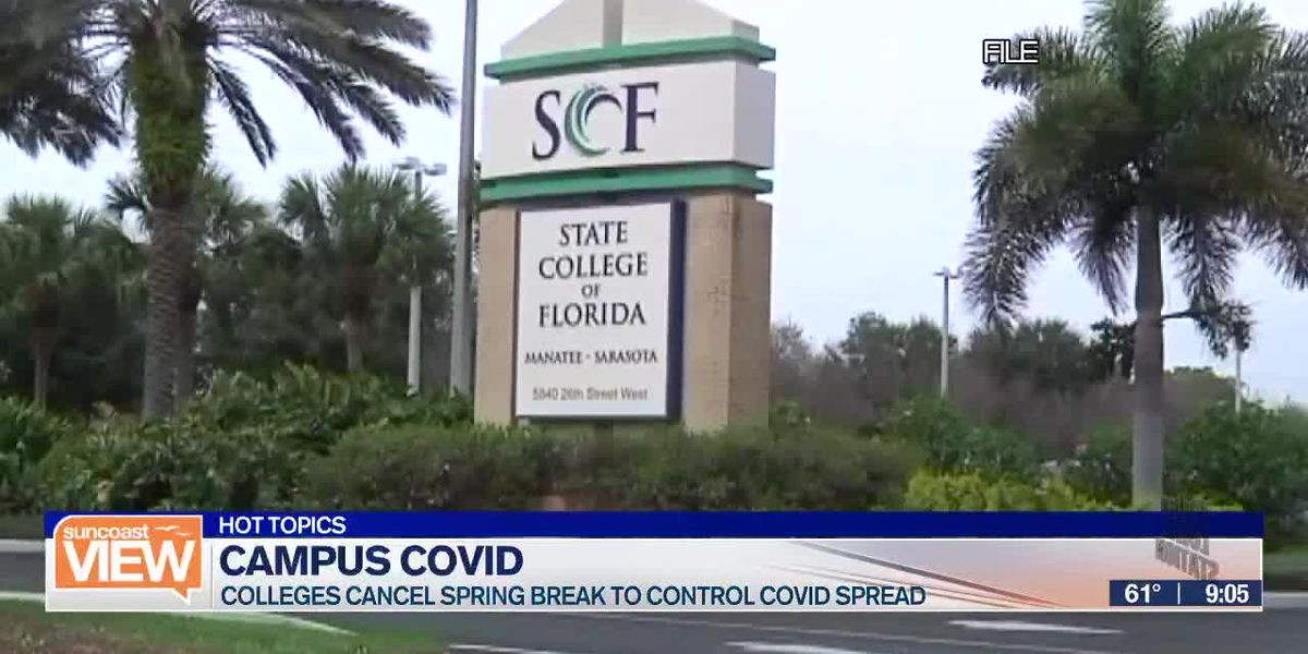 HOT TOPICS: College COVID control & Keurig-style ice cream machines | Suncoast View