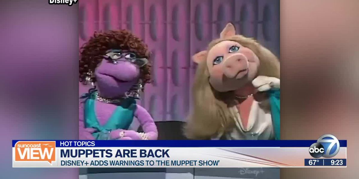"HOT TOPICS: ""The Muppets Show"" returns & Battle of the TV remote 