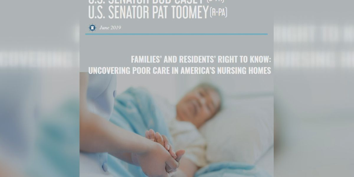 Two Sarasota facilities included in Senate report of nursing homes with serious health, safety and sanitary problems