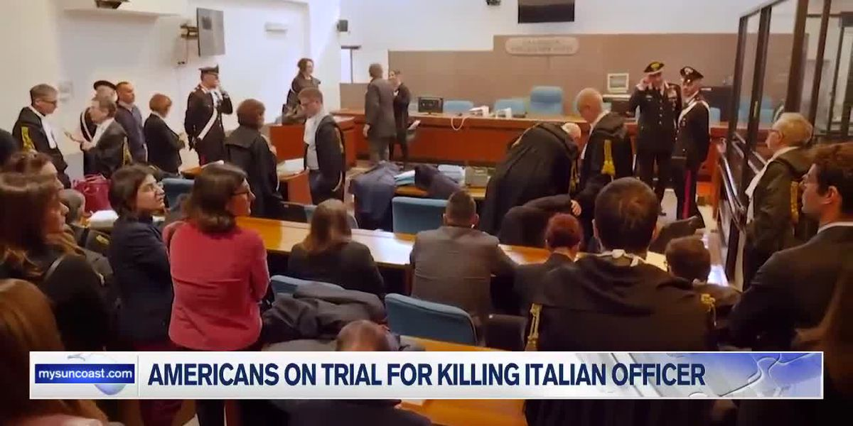 Americans on Trial for Killing Italian Officer