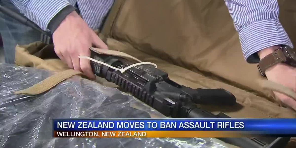 New Zealand moves to ban assault rifles