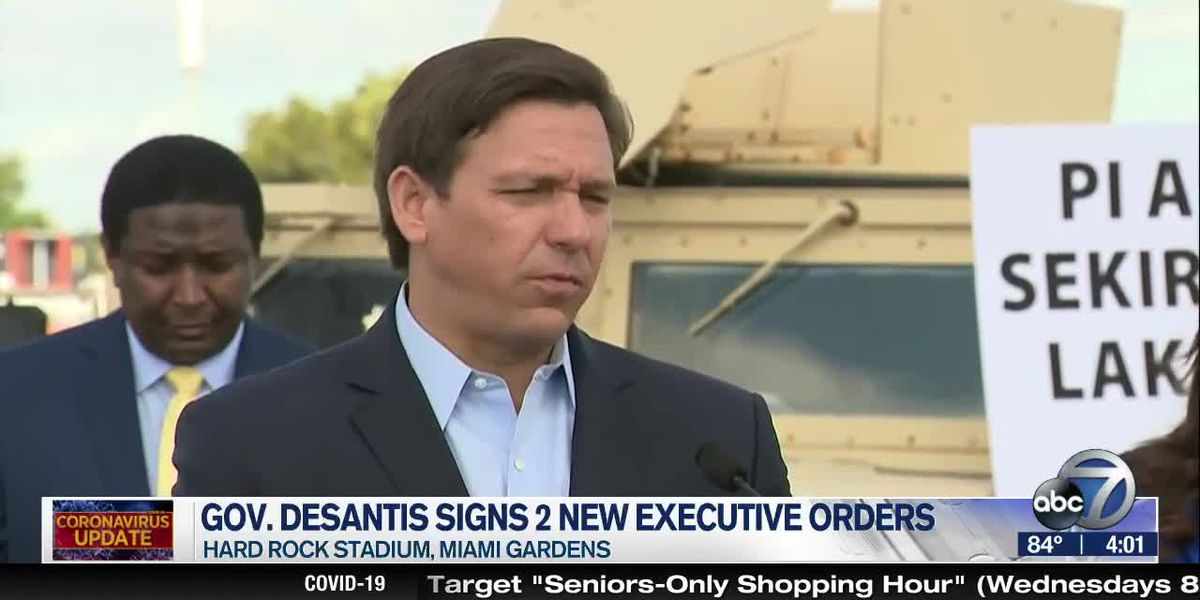 Gov. DeSantis Signs 2 New Executive Orders