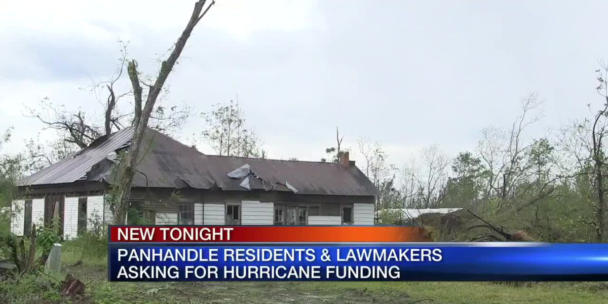 Panhandle residents & lawmakers asking for hurricane funding