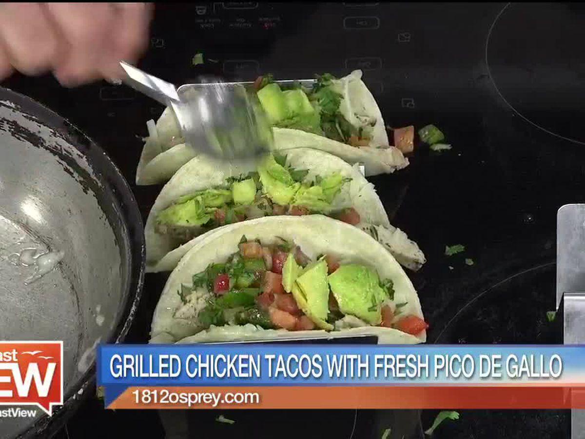 Grilled Chicken Tacos from 1812 Osprey Bistro