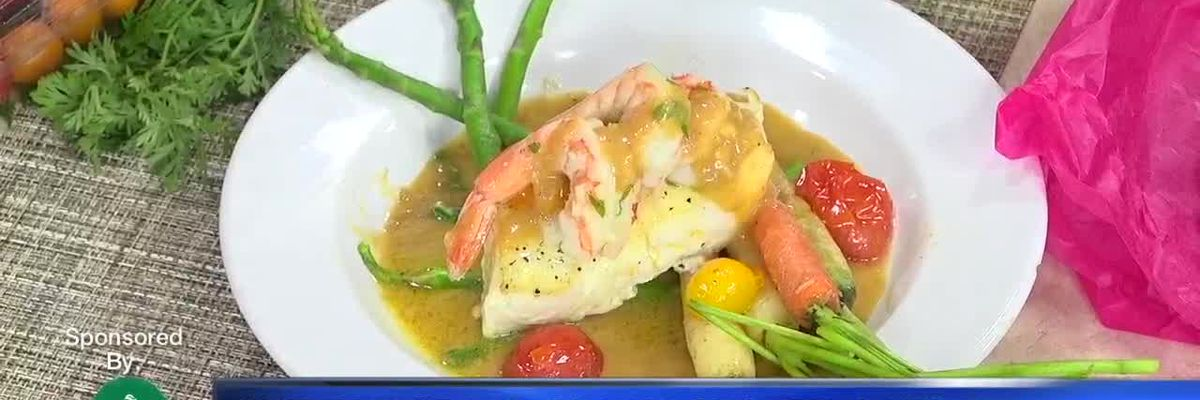 Pan Seared Chilean Sea Bass with Lobster Broth and Rainbow Carrots - Part 3