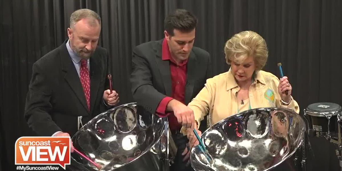 "A Steel Drum Lesson and Peformance with ""A Calyp-soul Christmas!"" 