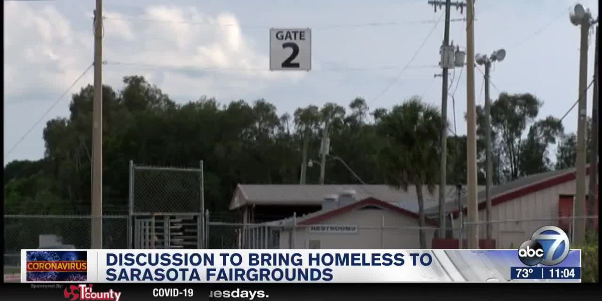 Discussion to Bring Homeless to Sarasota Fairgrounds