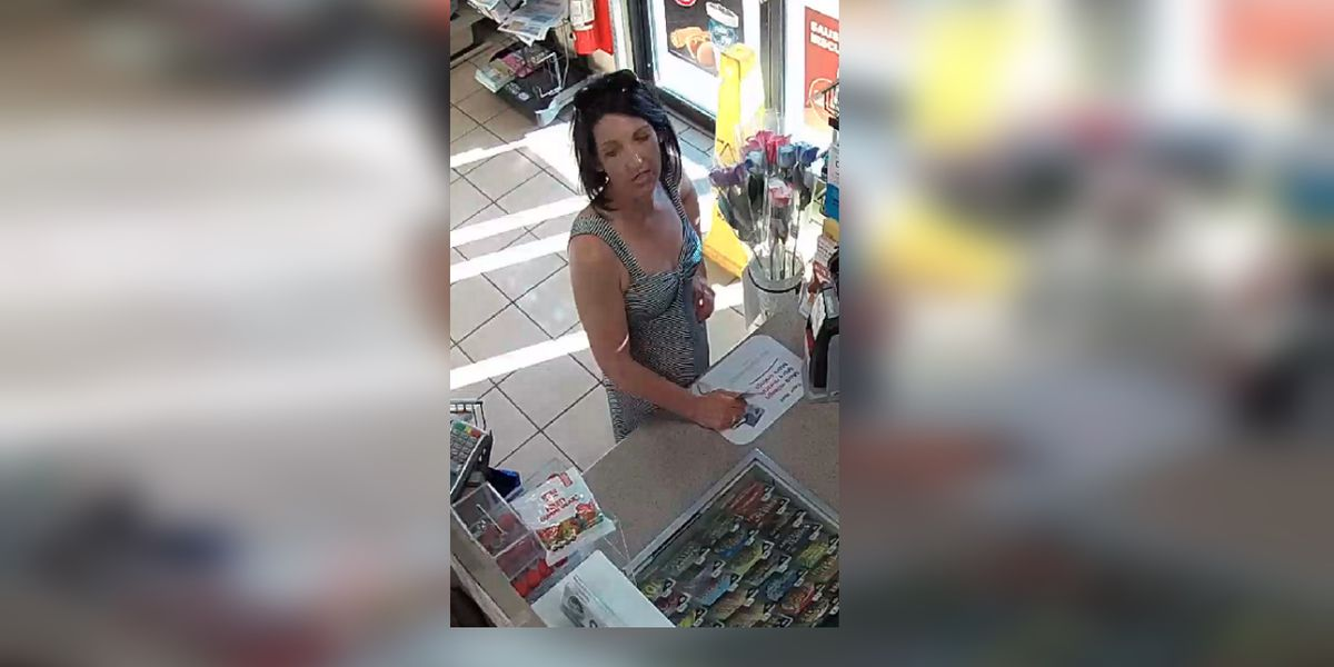 Sheriff's office looking for help identifying woman suspected of stolen credit card